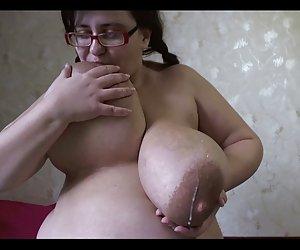 Sexy bbw chubby esposa ama su coño mojado de juguetes