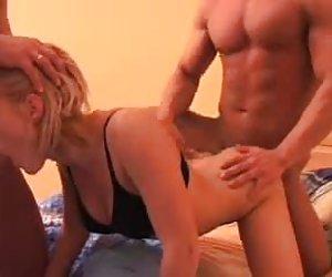 voyeur: frotamiento del pene