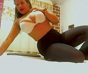 Secretaria puta captados por una cámara de seguridad