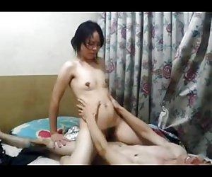 Sexy bbw babe kandi kobain cabalga polla grande