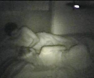 esposa infiel folla con compañero de trabajo en la habitación del hotel