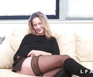 lesbiana con clitoris grande workout - snc