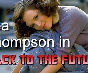 Lea thompson en 'regreso al futuro'