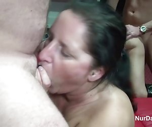 Primera experiencia de gloryhole Teen putas