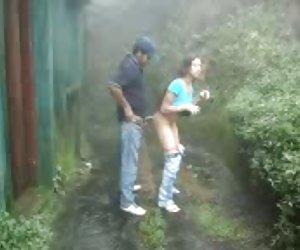 Pareja de SL al aire libre follar en nuwara eliya